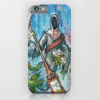 iPhone & iPod Case featuring The reaper by Grant Yuhre