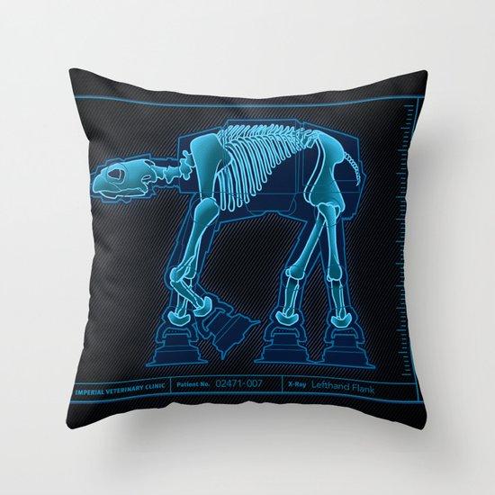 At-At Anatomy Throw Pillow