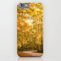 iPhone & iPod Case featuring Just Around the Curve by Bren