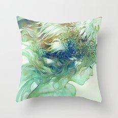 Comb Throw Pillow