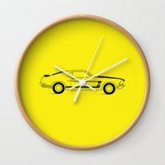 Mustang Boss Wall Clock