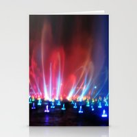 World Of Color II Stationery Cards