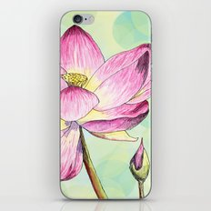 Lotus Bloom iPhone & iPod Skin
