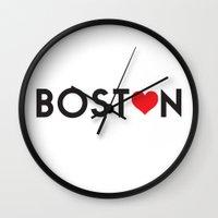 Boston 2.0 Wall Clock