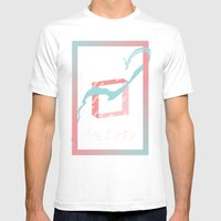 Inseguridades  Mens Fitted Tee White SMALL