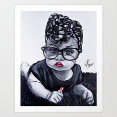 Baby Badu Art Print