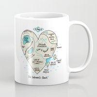 A Map of the Introvert's Heart Mug