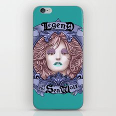 Legend of the Sea Wolf (alt-colour) iPhone & iPod Skin