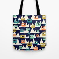 Alpine Wonderland Tote Bag