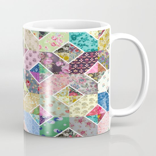Betty's Diamond Quilt Mug