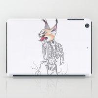 Half Man Half Caracal iPad Case