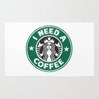 I Need A Coffee! Rug
