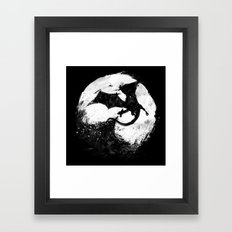 Midnight Desolation Framed Art Print