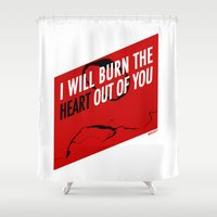 SHERLOCK Moriarty Print Shower Curtain