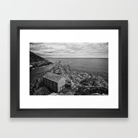 The Net Shed Framed Art Print