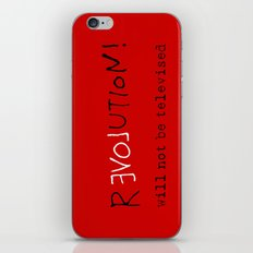 re-love-ution iPhone & iPod Skin