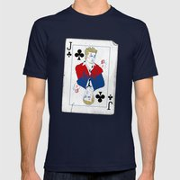 I Am Jack Mens Fitted Tee Navy SMALL