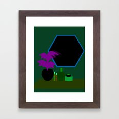 Barbi Girl Framed Art Print