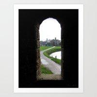Cardiff Castle Art Print