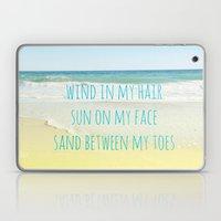 Wind In My Hair Laptop & iPad Skin