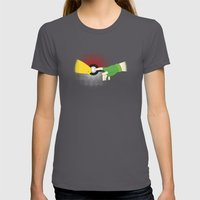 The Creation of Friendship Womens Fitted Tee Asphalt SMALL