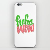 HAHA WOW iPhone & iPod Skin