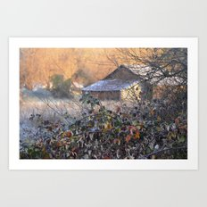 Leaves Before The Fall  Art Print