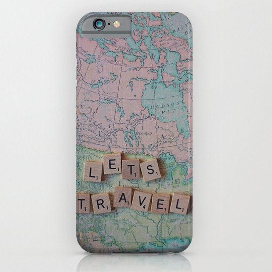 Let's Travel iPhone & iPod Case