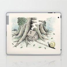 'A Visitor' (Colour) Laptop & iPad Skin