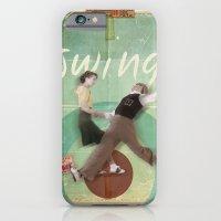 iPhone & iPod Case featuring Swing Dance by Michael Jon Watt