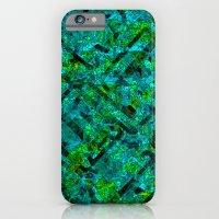 Vitrage (Turquoise) iPhone 6 Slim Case