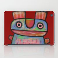 Rabbit work out iPad Case
