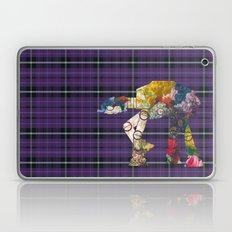 Plaid and Floral ATAT Laptop & iPad Skin