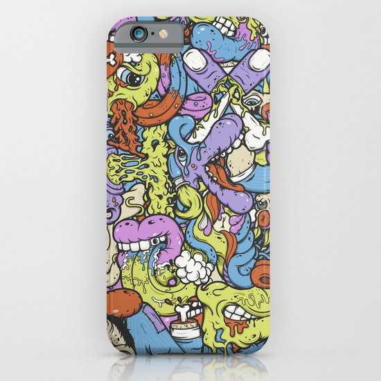 Alphabetcha Collage iPhone & iPod Case