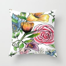 VRTree Throw Pillow