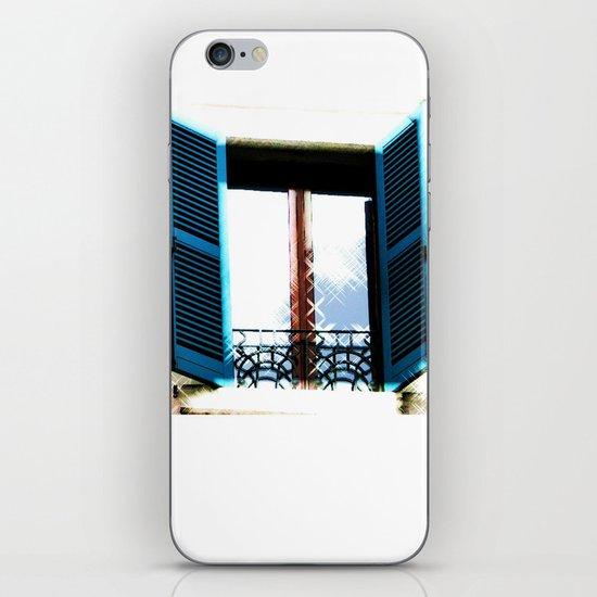 Window to the Present iPhone & iPod Skin