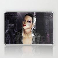 Don't I Bleed? - Gothic Bleeding Female Painting Laptop & iPad Skin