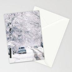 Winter on Beechwood Lane Stationery Cards