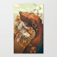 Lepus Canvas Print