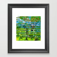 Landscape Of My Heart (s… Framed Art Print