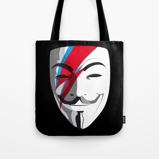 Viggy Starfawkes – Who wants to be anonymous? Tote Bag