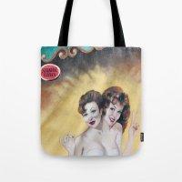 Strange Girls Tote Bag