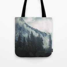 Cross Mountains Tote Bag