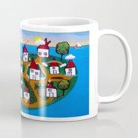 Dream House Island Mug