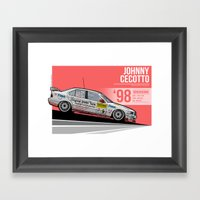 Johnny Cecotto - 1998 N�… Framed Art Print