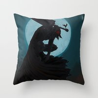 Berserk Armor Throw Pillow