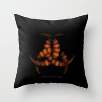 Bone-Biohazard 028 Throw Pillow