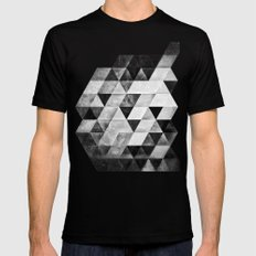 dythyrs Black SMALL Mens Fitted Tee