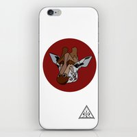 Wild Rectangular Giraffe iPhone & iPod Skin