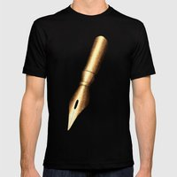 Mightier Mens Fitted Tee Black SMALL